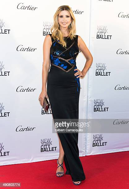 Businesswoman Ivanka Trump attends the 2015 New York City Ballet Fall Gala at David H Koch Theater at Lincoln Center on September 30 2015 in New York...