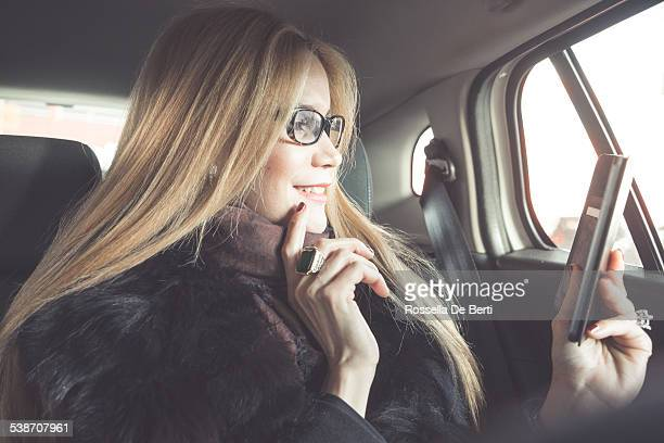 Businesswoman Making A Video Call With Smartphone