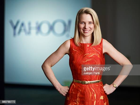 Businesswoman Marissa Mayer is photographed for The Focus Egon Zehnder on May 12 in Sunnyvale California