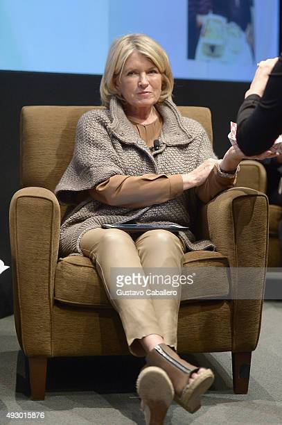 Businesswoman Martha Stewart attends FOODi The Future Of Food Business In Cooperation With Bloomberg LP And Resy during Food Network Cooking Channel...