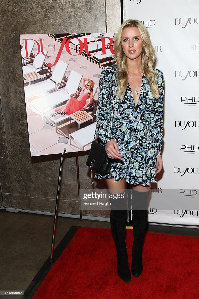 Businesswoman Nicky Hilton attends Jason Binn's celebration of Paris Hilton's Spring Cover on DuJour Magazine on April 27 2015 in New York City