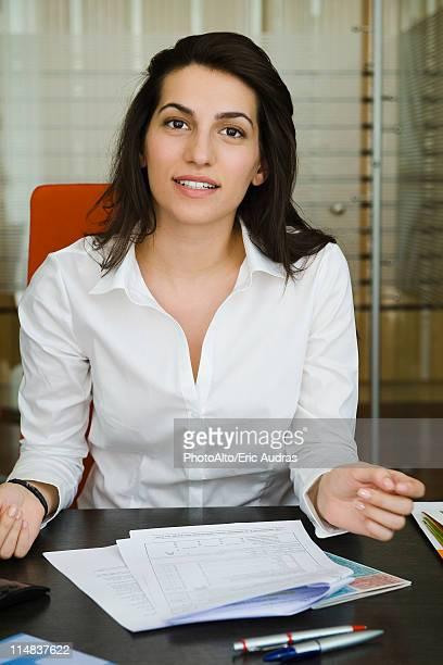 Businesswoman, portrait