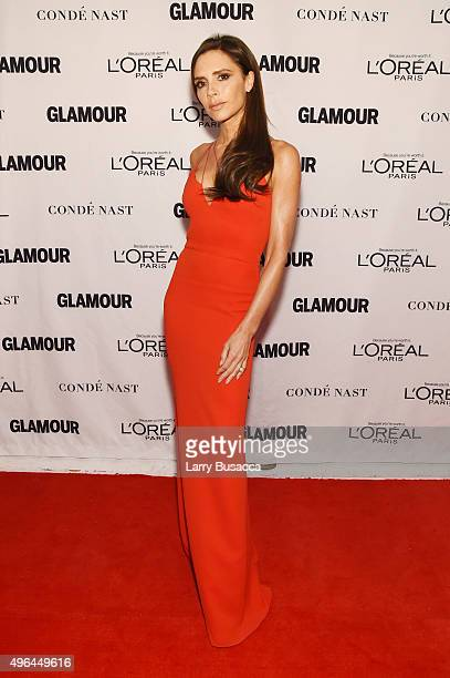 Businesswoman Victoria Beckham attends 2015 Glamour Women Of The Year Awards at Carnegie Hall on November 9 2015 in New York City