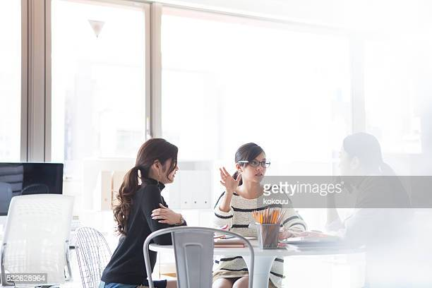 女性実業家、設計の説明