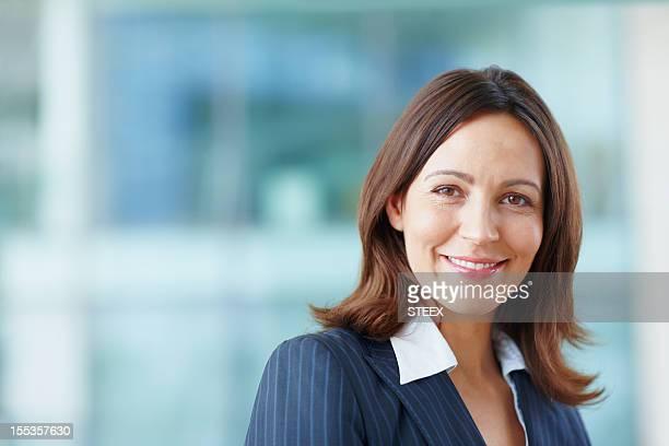 Businesswoman with elegance