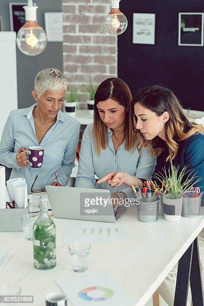 Businesswomen Brainstorming
