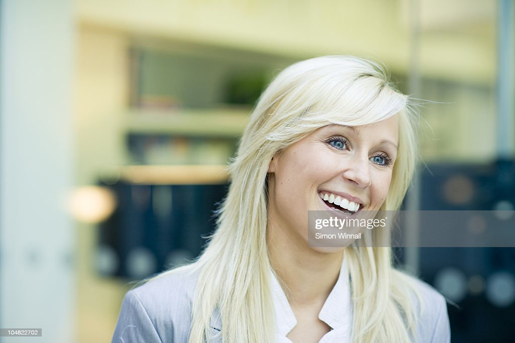 Businesswomen laughing : Stock Photo