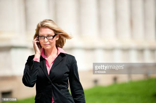 Businesswomen Lawyer at Courthouse