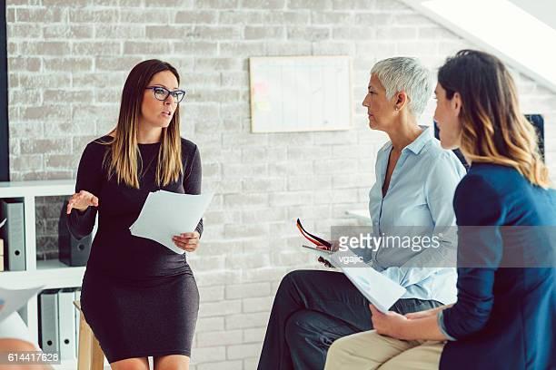 Businesswomen Only Meeting
