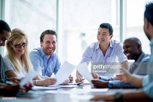 Bussiness Associates in a Meeting