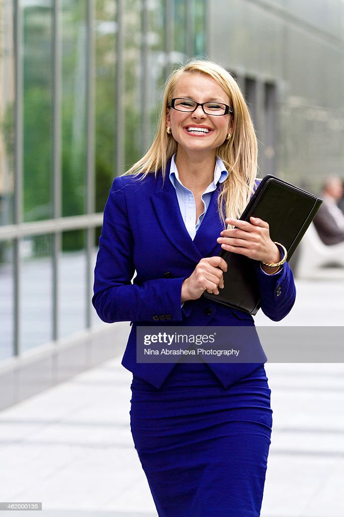 Bussiness woman : Stock Photo