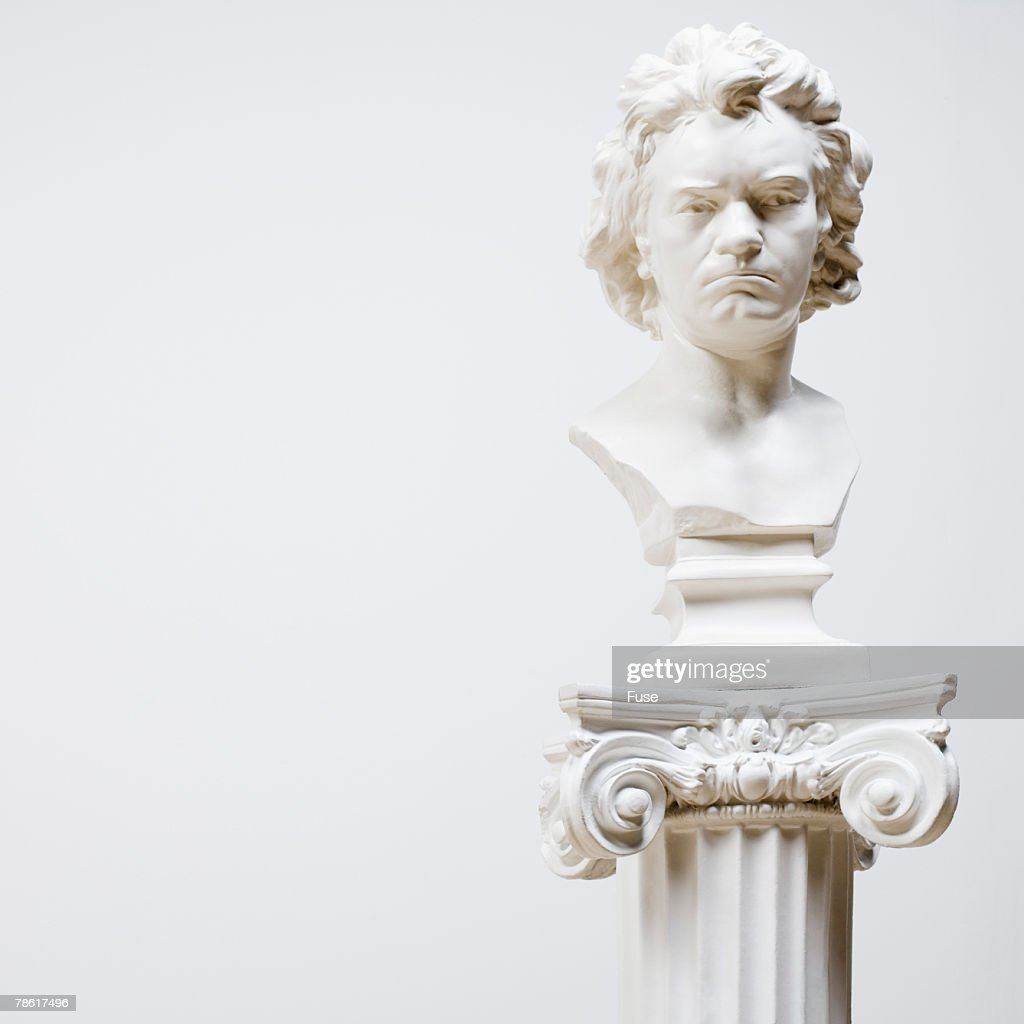 Bust at Art Gallery
