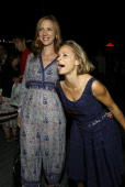 Bust Creative Director/Publisher Laurie Henzel and Actress Amy Sedaris attend the Bust Magazine's 15th anniversary celebration at the South Street...