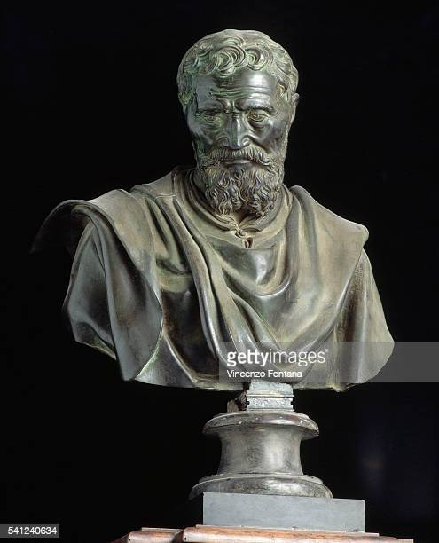 Bust of Michelangelo by Daniele da Volterra