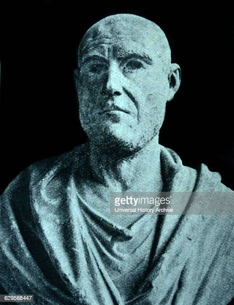 Bust of Philip II of Macedon King of the King of the Ancient Greek kingdom of Macedon