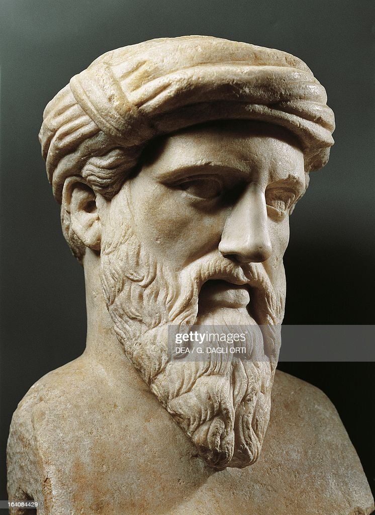 [Image: bust-of-pythagoras-of-samos-ancient-gree...d164084429]