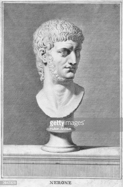 A bust of the Roman Emperor Nero circa 65 AD