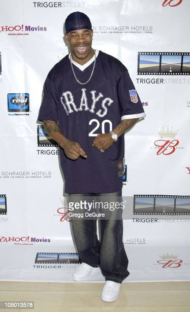 Busta Rhymes during Kevin Spacey's TriggerStreetcom Launches New Content Showcase at Las Vegas Convention Center in Las Vegas Nevada United States