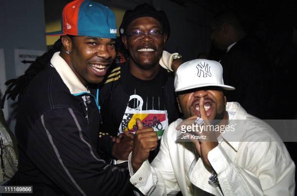 Busta Rhymes Samuel L Jackson and Method Man **Exclusive**
