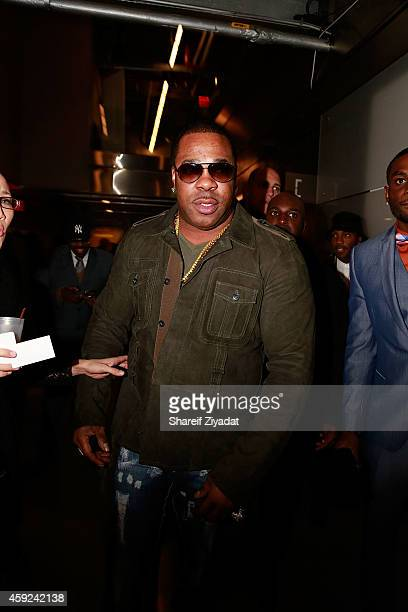 Busta Ryhmes attends the 2014 Global Spin Awards at New World Stages on November 18 2014 in New York City