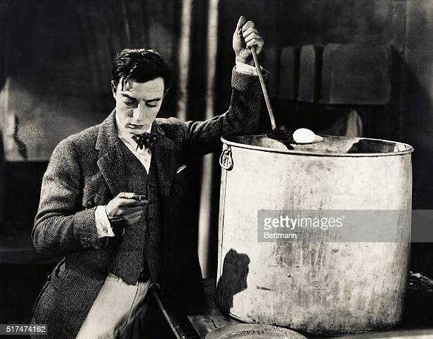 Buster Keaton is shown in a scene from The Navigator directed by Donald Crisp for MetroGoldwyn in September 1924