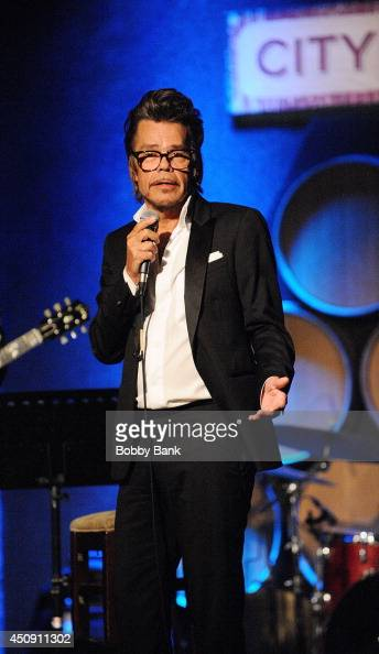 Buster Poindexter aka David Johansen performs at City Winery on June 19 2014 in New York City
