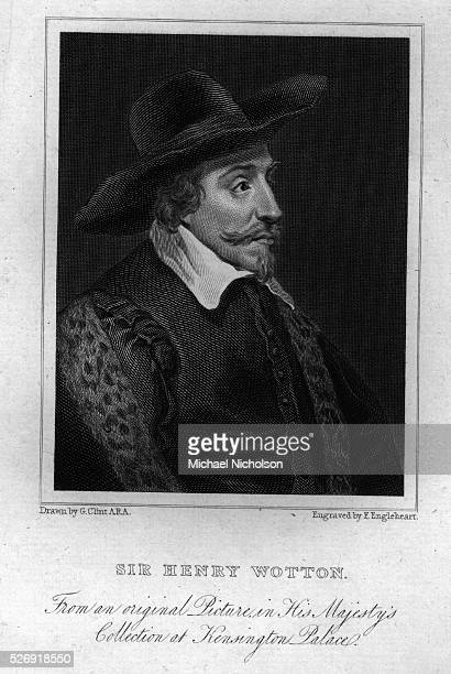 A bustlength portrait of the English traveller and scholarSir Henry Wotton