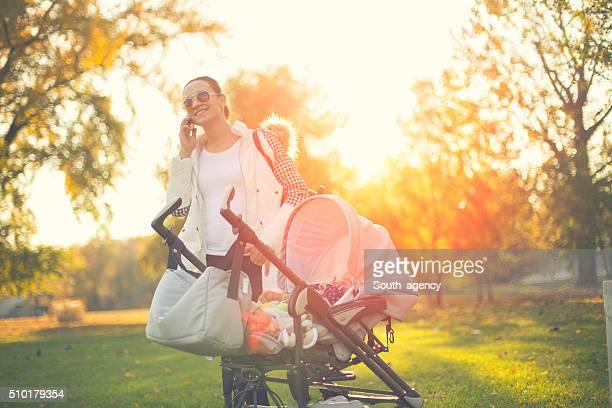 Busy babysitter