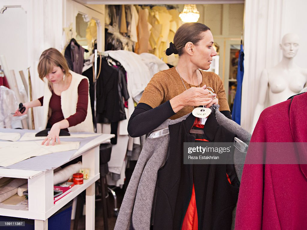Busy design studio : Stock Photo