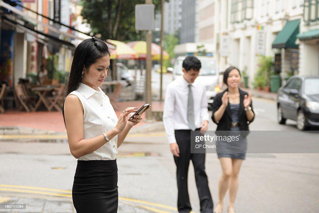 Busy exeecutive : Stock Photo