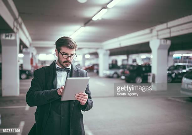 Busy gentleman