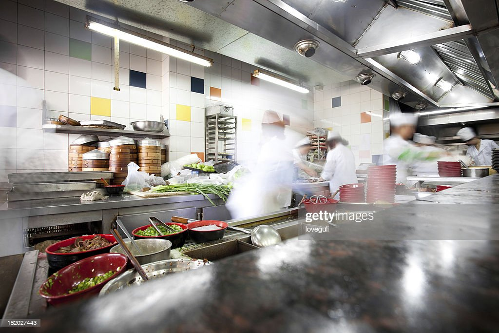 Busy Kitchen busy kitchen stock photo | getty images