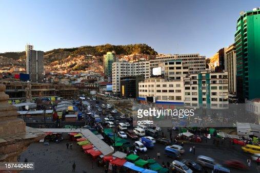 Busy La Paz