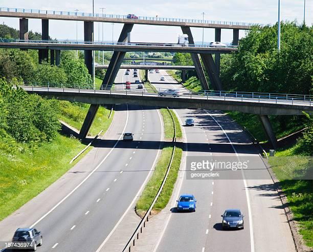 Busy Motorway Bridges