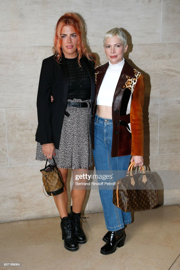 busy-philipps-and-michelle-williams-attend-the-louis-vuitton-show-as-picture-id857169064