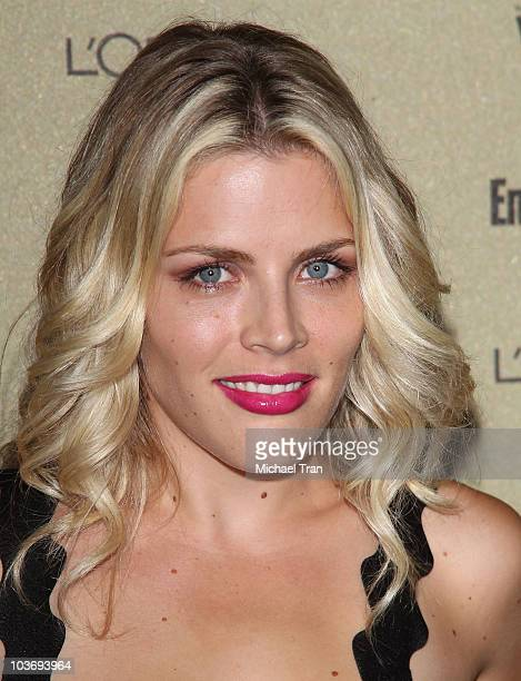 Busy Philipps arrives at the Entertainment Weekly and Women In Film preEMMY party held at The Sunset Marquis Hotel on August 27 2010 in West...