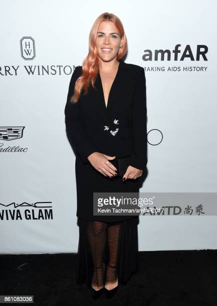 Busy Philipps at amfAR Los Angeles 2017 at Ron Burkle's Green Acres Estate on October 13 2017 in Beverly Hills Californi
