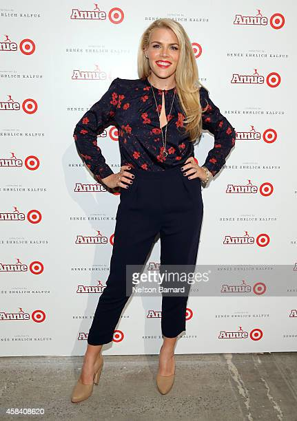 Busy Philipps attends Annie For Target launch event at Stage 37 on November 4 2014 in New York City