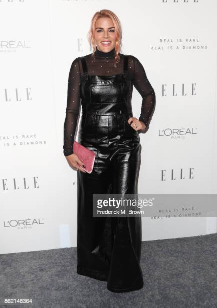Busy Philipps attends ELLE's 24th Annual Women in Hollywood Celebration at Four Seasons Hotel Los Angeles at Beverly Hills on October 16 2017 in Los...