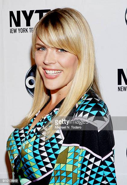 Busy Philipps attends the 2009 New York Television Festival screenings of 'Modern Family' and 'Cougar Town' at TheTimesCenter on September 21 2009 in...