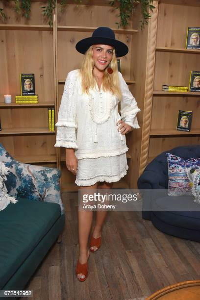 Busy Philipps attends the celebration for the release of Kelly Oxford's book 'When You Find Out The World Is Against You' on April 24 2017 in West...