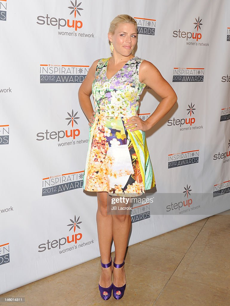 <a gi-track='captionPersonalityLinkClicked' href=/galleries/search?phrase=Busy+Philipps&family=editorial&specificpeople=216133 ng-click='$event.stopPropagation()'>Busy Philipps</a> attends the StepUp Women's Network 9th Annual Inspiration Awards at The Beverly Hilton Hotel on June 8, 2012 in Beverly Hills, California.