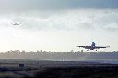 Busy runway