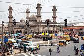 Busy streets in Ikorodu.