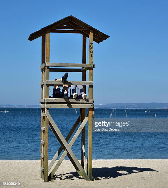 Busy surveillance turret