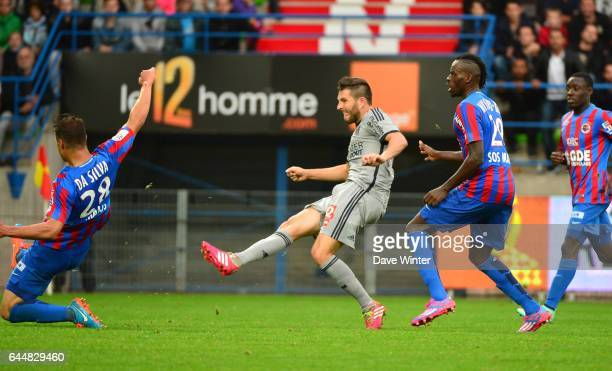 But Andre Pierre GIGNAC Caen / Marseille 9eme journee de Ligue 1 Photo Dave Winter / Icon Sport