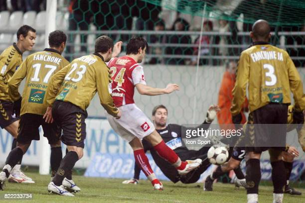 But Cedric FAURE Reims / Strasbourg 19eme journee de Ligue 2
