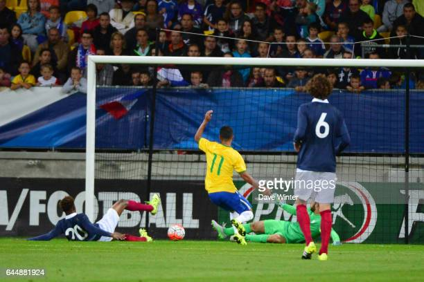 But CSC Presnel KIMPEMBE France / Bresil Espoirs Match amical 2015 Photo Dave Winter / Icon Sport