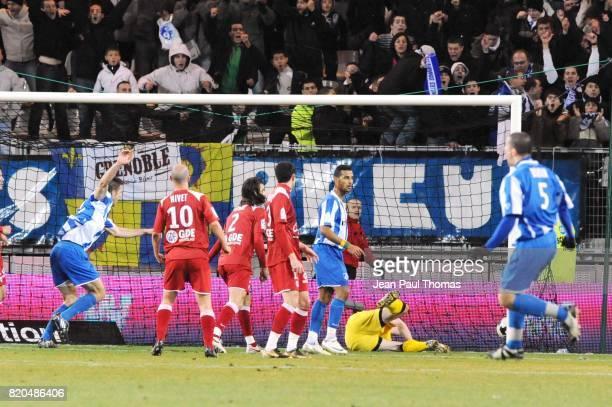But de Sandy PAILLOT Grenoble / Caen 27 eme journee de Ligue 1