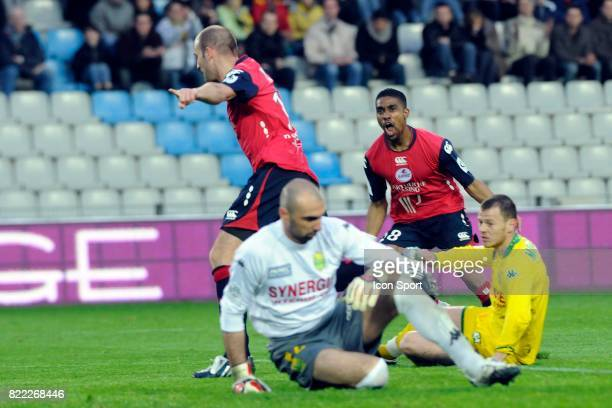 But et joie Robert VITTEK Nantes / Lille 30e journee Ligue 1